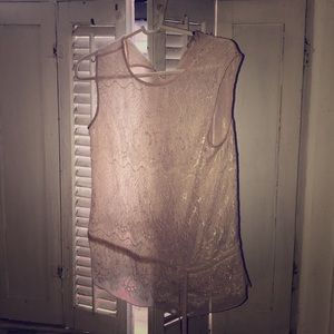 Ted Baker Lace Tank Top blouse